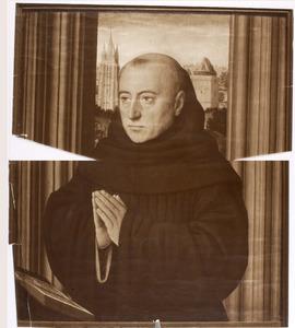 Portret van een geestelijke als stichter