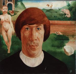 Portret van Cornelis Jan Doolaard (1944- )