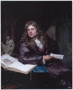 Portret van een kunstverzamelaar