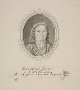 Portret van Bernard de Moor (1641-1719)