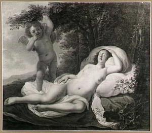Slapende Venus met Cupido