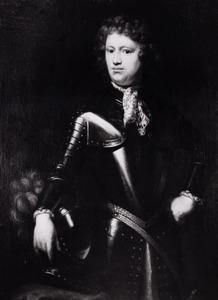Portret van Tjepcke (Tiberius Pepinus) van Eminga ( -1733)