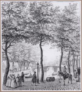 Herengracht in Amsterdam bij de Warmoesgracht