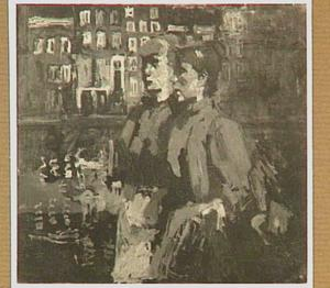 Twee vrouwen in rode jakken