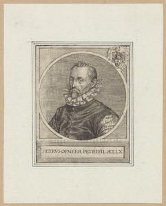 Portret van Petrus van Opmeer (....-1635)