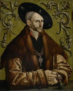Portret van Edzard I, graaf van Oost-Friesland