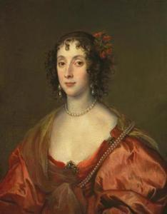 Portret van een vrouw, mogelijk uit de Mordaunt familie