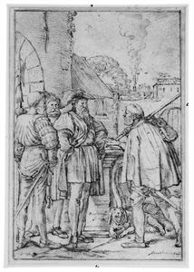 Schout van Dordrecht ontvangt de brief van de graaf