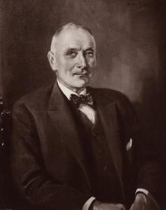 Portret van Theodor Willem Blijdenstein (1847-1935)