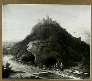 Vesting op een berg