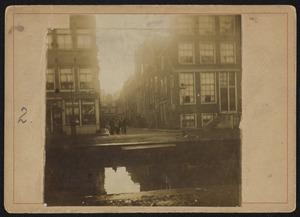 Gezicht op de Lauriergracht te Amsterdam