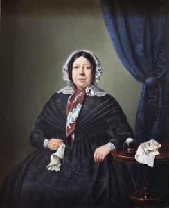 Portret van Hermina de Wit (1784-1857)