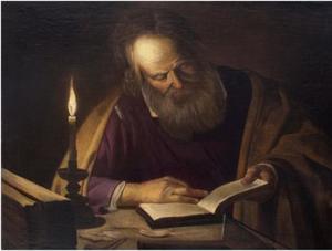 De H. Jozef die leest