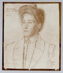 Portret van Rachel Isabella Fraser (1865-1955)