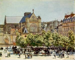 Place St.Germain l'Auxerrois