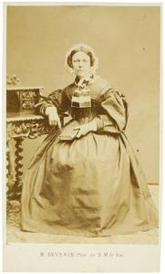 Portret van Clementia Cornelia Elisa Gevers (1798-1875)