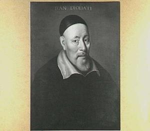 Portret van dr. Jean of Giovanni Diodati