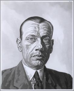 Portret van Bert Bakker (1912-1969)