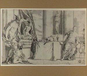 Mercurius, Aglaurus en Herse