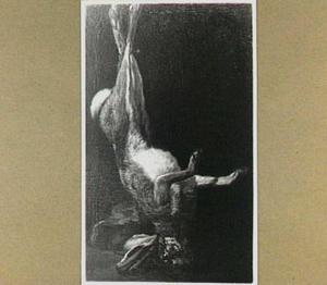 Opgehangen haas