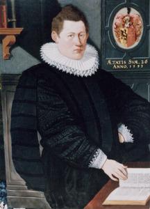 Portret van Govert Tiepke Kinnema (1558-1615)