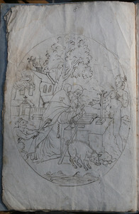 Scene uit het leven van de Heilige Antonius Abt