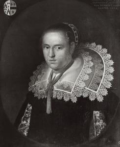 Portret van Helena van de Poll ( -1672)