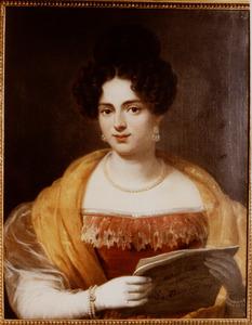 Portret van Jacoba Maria Majofski ( -1847)