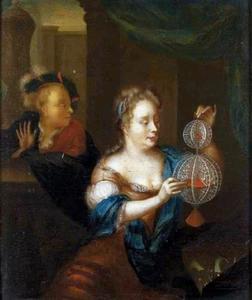 Portret van een vrouw, mogelijk Elisabeth Rijberg (...-....)