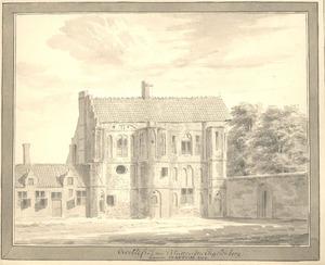 Hattem, ruïne van het klooster Engelenburg 1730