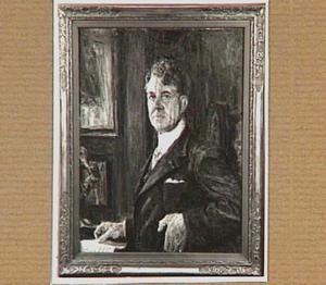 Portret van de musicus Kor Kuiber