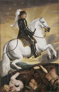 Frederik Hendrik als krijgsman die het water beheerst
