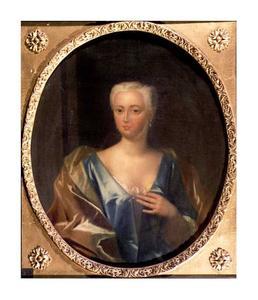 Portret van Anna Christina de Bye (1718-1760)