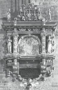 Epitaaf van Hofmaarschalk Joachim von der Lühe (1526-1588)