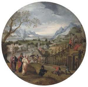 De maand Oktober: de parabel van de pachters van de wijngaard