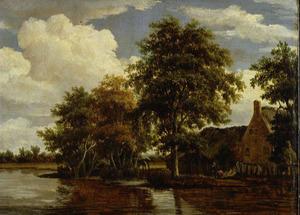 Boerenwoning aan het water