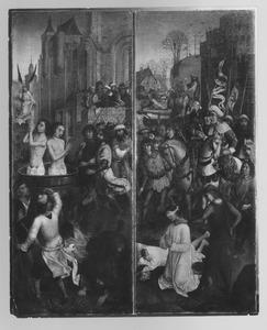Het martelaarschap van de HH. Crispinus en Crispanianus