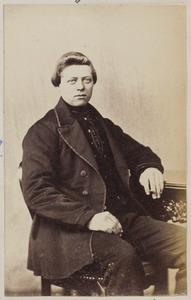 Portret van Lieuwe de Vries (1846-1936)