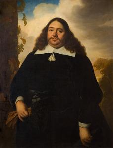 Portret van een man uit de familie Hinlopen