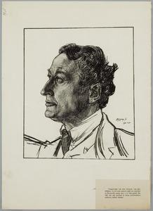 Portret van de acteur Willem Royaards