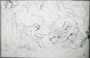 Het 'ossenoffer' van Pausias