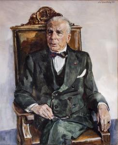 Portret van de heer F.H.M. Wyers (1882-1971)