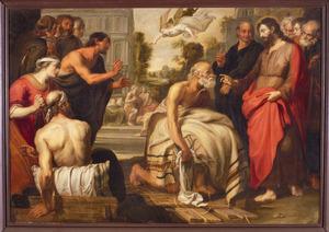 Christus geneest deverlamde bij de poel te Betesda (Johannes 5:1-15)