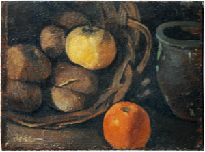 Stilleven met aardappelen