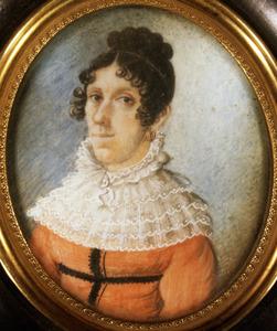 Portret van Alexandrine Marie Jeanne Sophie de Jaussaud (1805-1822)