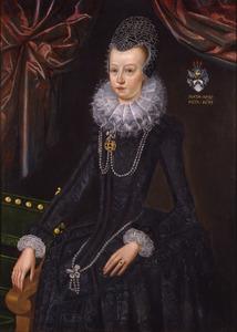 Portret van Elisabeth Rosensparre (1592-1627)
