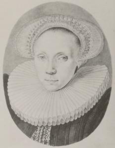 Portret van Grietje Backer (1571-1624)