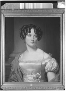 Portret van Adriana Sophia van Rhemen (1806-1842)