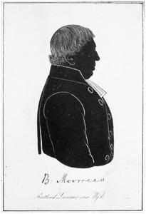 Portret van Bernhardus Moorrees (1780-1860)