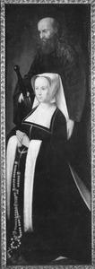 De H. Paulus met stichtster (op de buitenzijde: de H. Nicolaas)